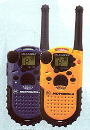 Walkie-talkies are very inexpensive now, and may be used instead of (or along with) cellphones.